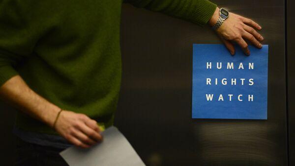 Human Rights Watch - Sputnik Italia