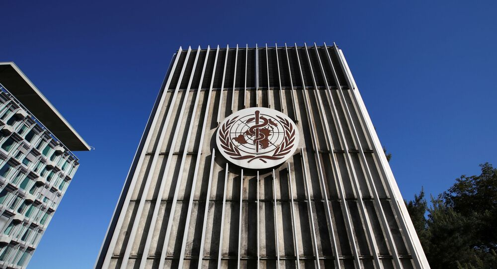 La sede dell'OMS a Ginevra