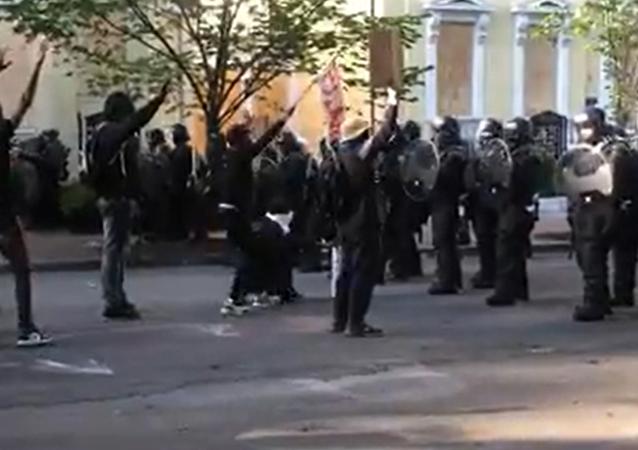 Manifestazioni a Washington, Usa