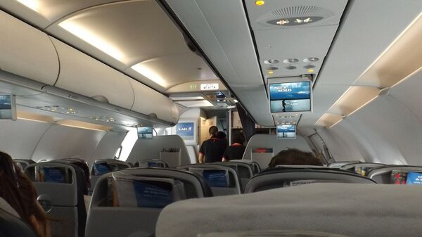 Nella cabina di un aereo - Sputnik Italia