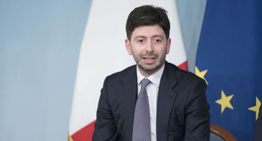Il ministro della Salute, Roberto Speranza