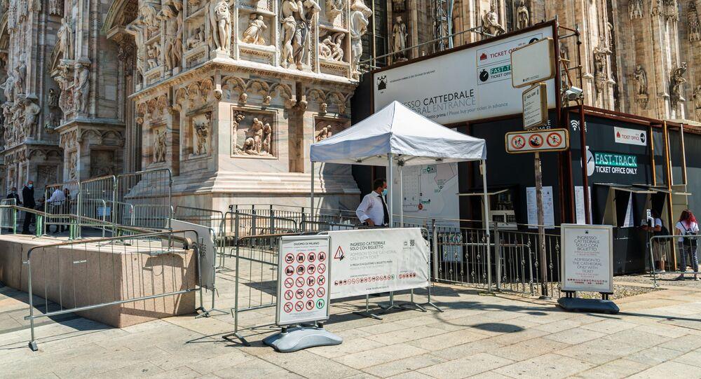 La biglietteria e l'ingresso alla mostra nel Duomo di Milano