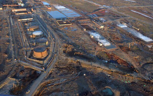 La fuoriuscita di gasolio a Norilsk - Sputnik Italia