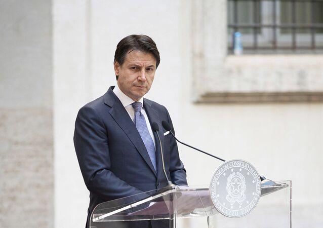 Il Presidente del Consiglio, Giuseppe Conte, ha tenuto una conferenza stampa a Palazzo Chigi
