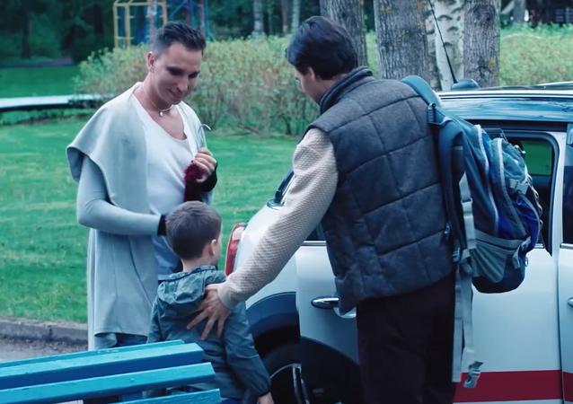 L'immagine dal video rilasciato dall'agenzia di stampa russa RIA FAN