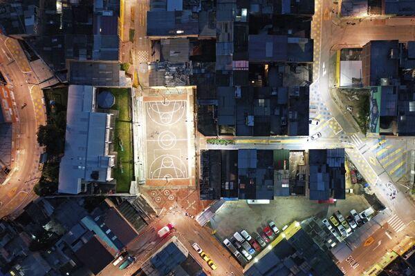 La vista dall'alto della città di Ciudad Bolivar in Venezuela. - Sputnik Italia