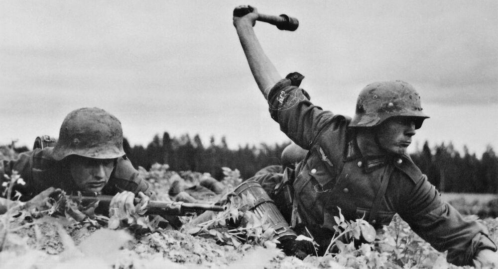 Truppe tedesche in Russia