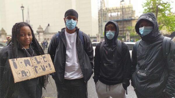Le proteste contro le violenze della polizia a Londra - Sputnik Italia
