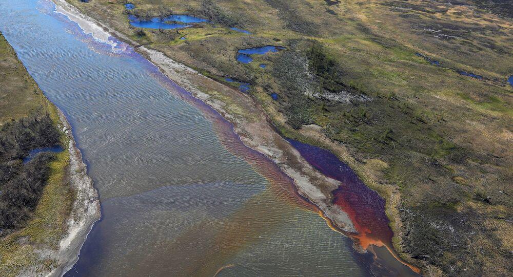 La fuoriuscita di gasolio a Norilsk