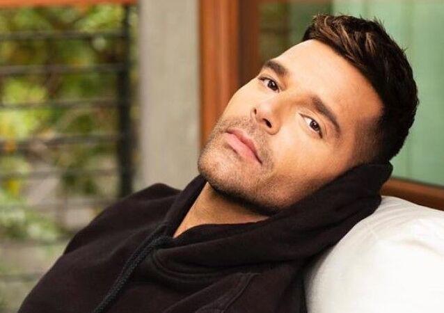Ricky Martin, foto de archivo