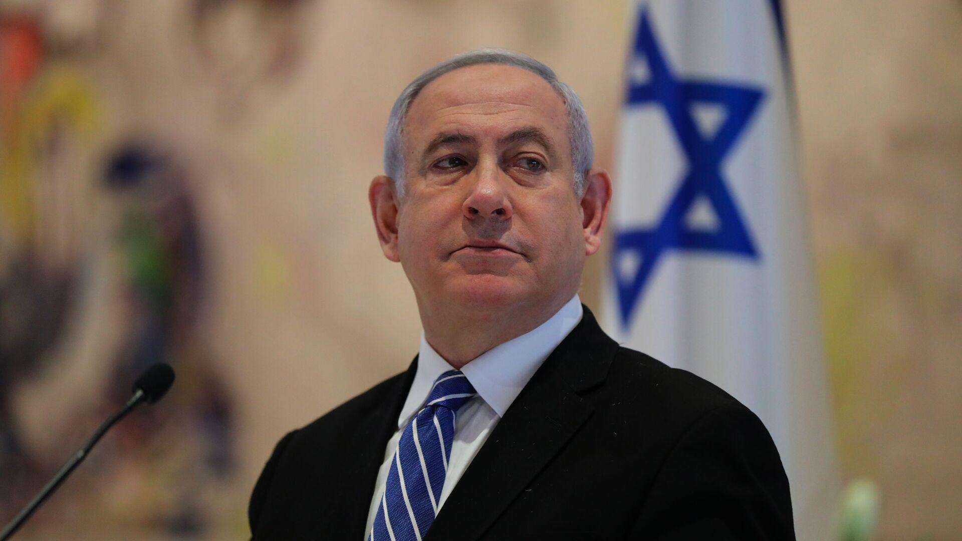 Il primo ministro dell'Israele Benjamin Netanyahu  - Sputnik Italia, 1920, 20.05.2021