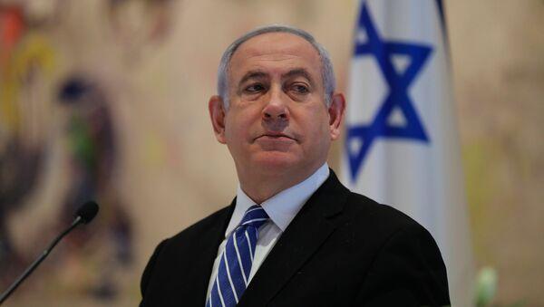 Il primo ministro dell'Israele Benjamin Netanyahu  - Sputnik Italia