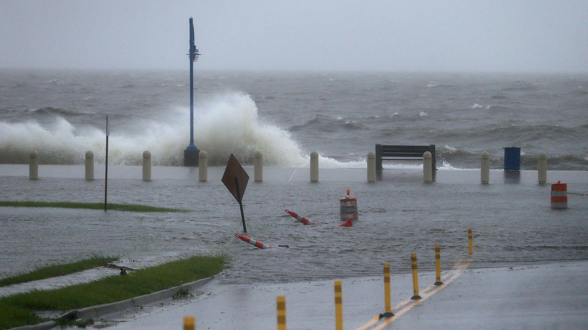 Tempesta tropicale Cristobal a New Orleans, 7 Giugno 2020 - Sputnik Italia, 1920, 09.09.2021