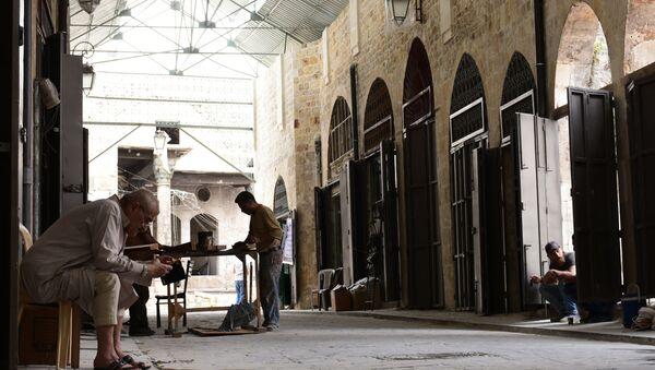 Mercato Al Khabiah ad Aleppo - Sputnik Italia