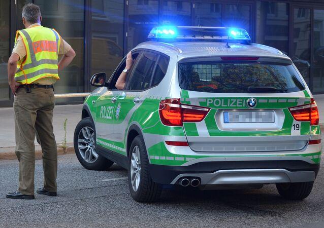 Un'auro della polizia in Baviera (Archivio)
