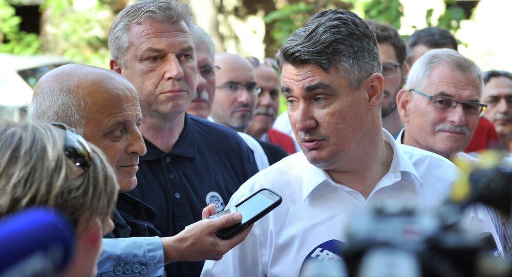 Zoran Milanovic, presidente della Croazia