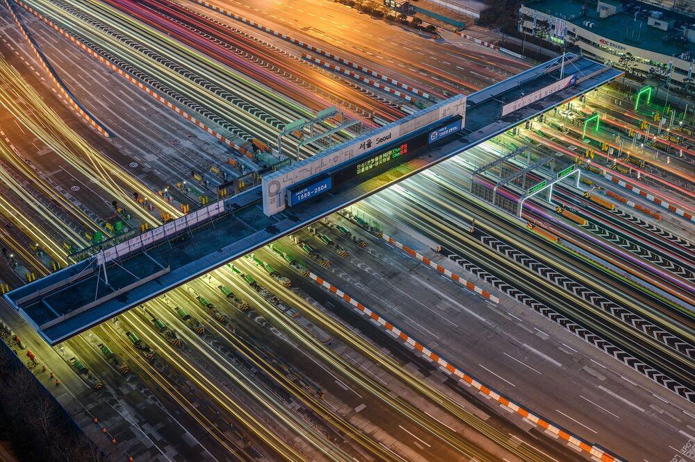Lo scatto The urban semiconductor del fotografo Youngkeun Sur, vincitore della categoria Technology/Machine