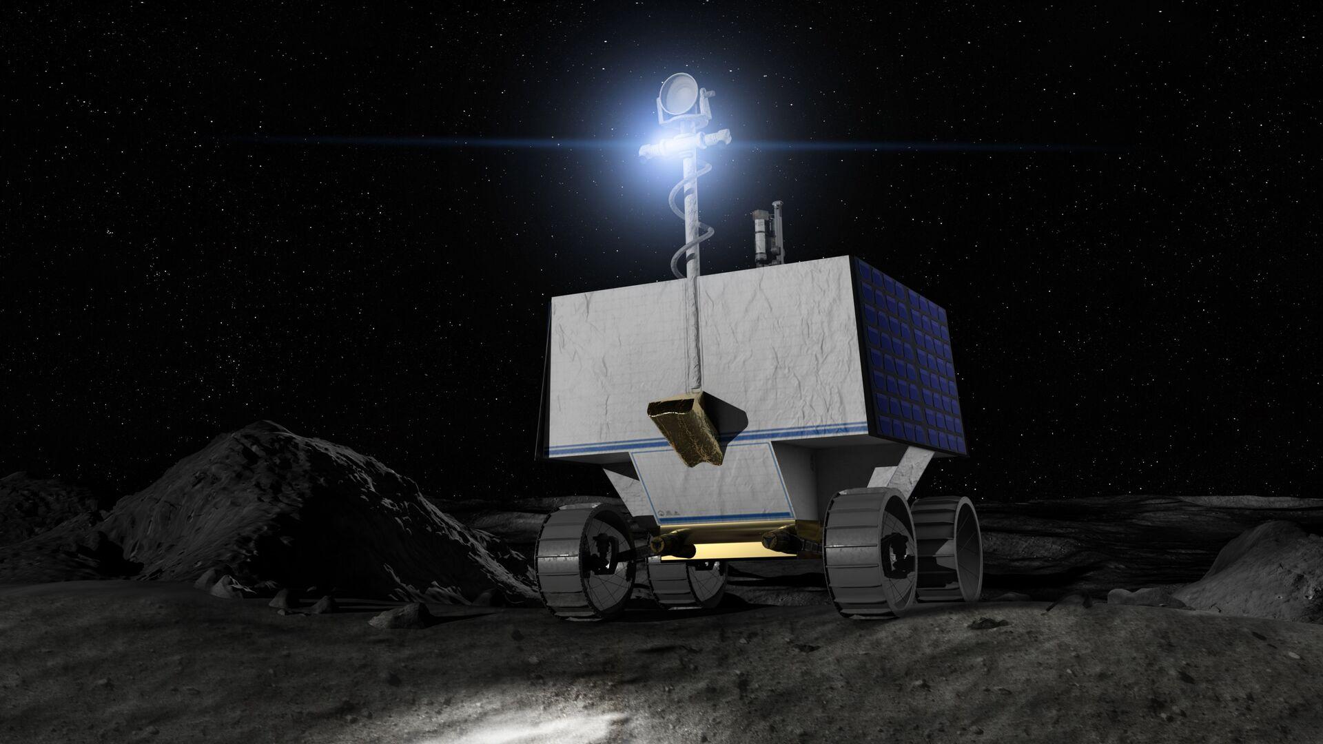 Il nuovo rover VIPER che sarà inviato dalla NASA sulla Luna per mappare le concentrazioni di ghiaccio d'acqua - Sputnik Italia, 1920, 16.06.2021