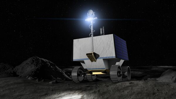 Il nuovo rover VIPER che sarà inviato dalla NASA sulla Luna per mappare le concentrazioni di ghiaccio d'acqua - Sputnik Italia