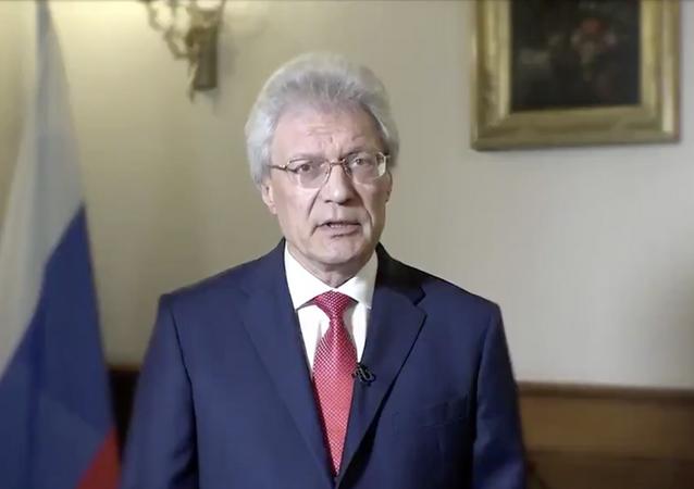 Ambasciatore della Federazione Russa nella Repubblica Italiana Sergey Razov (foto d'archivio)