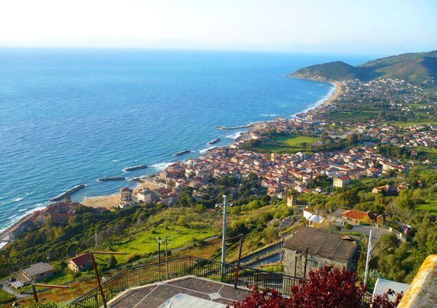 Il panorama di Santa Maria di Castellabate