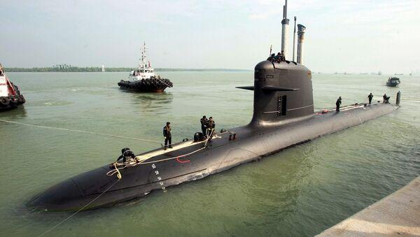 Un sous-marin Scorpène conçu par le DCNS - Sputnik Italia