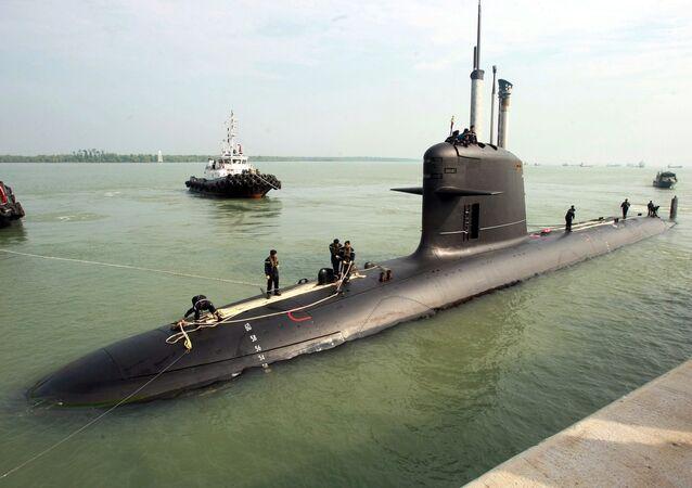 Sottomarino francese (foto d'archivio)