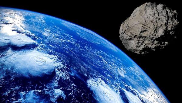 Asteroid and the Earth - Sputnik Italia
