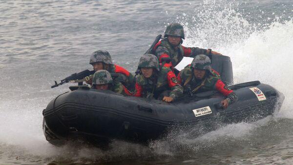 Competizione del genio militare Acqua aperta. - Sputnik Italia