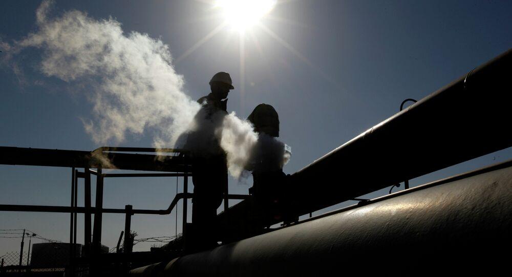 Produzione di petrolio in Libia