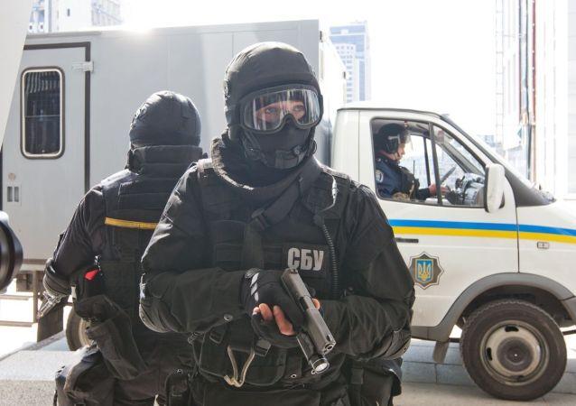 Un agente degli servizi segreti ucraini SBU