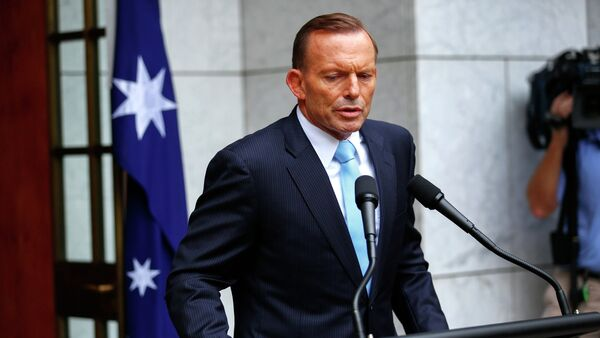 Primo ministro australiano Tony Abbott - Sputnik Italia