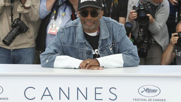 Spike Lee al festival del cinema di Cannes - Sputnik Italia
