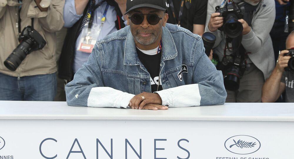 Spike Lee al festival del cinema di Cannes