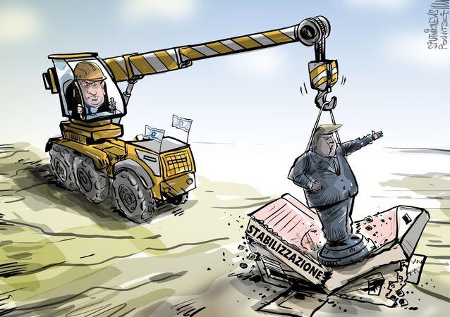 Vignetta Alture di Trump