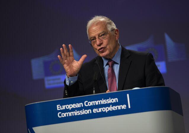 L'Alto Rappresentante per gli Affari Esteri e la Sicurezza dell'Unione Europea, Joseph Borrell