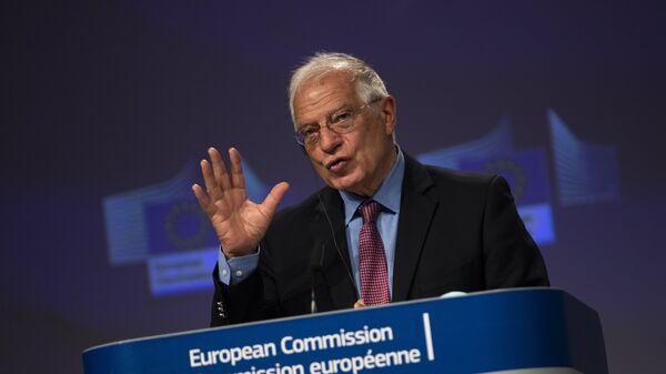 L'Alto Rappresentante per gli Affari Esteri e la Sicurezza dell'Unione Europea, Joseph Borrell - Sputnik Italia