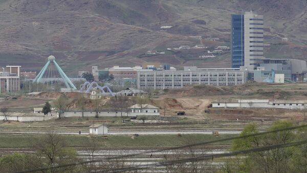 Ufficio di collegamento a Kaesong al confine tra le due Coree - Sputnik Italia