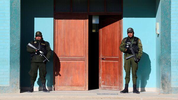 La polizia in Bolivia (foto d'archivio) - Sputnik Italia