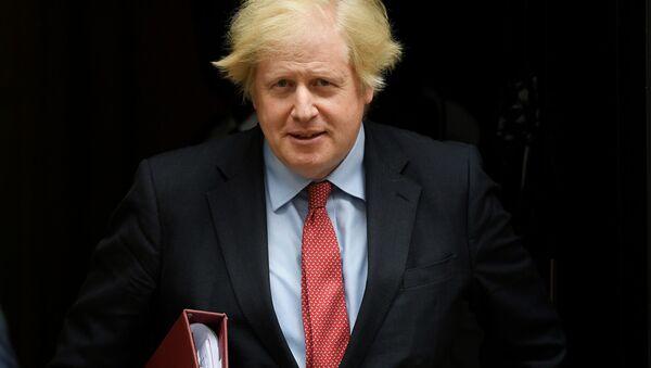 Il primo ministro britannico Boris Johnson - Sputnik Italia