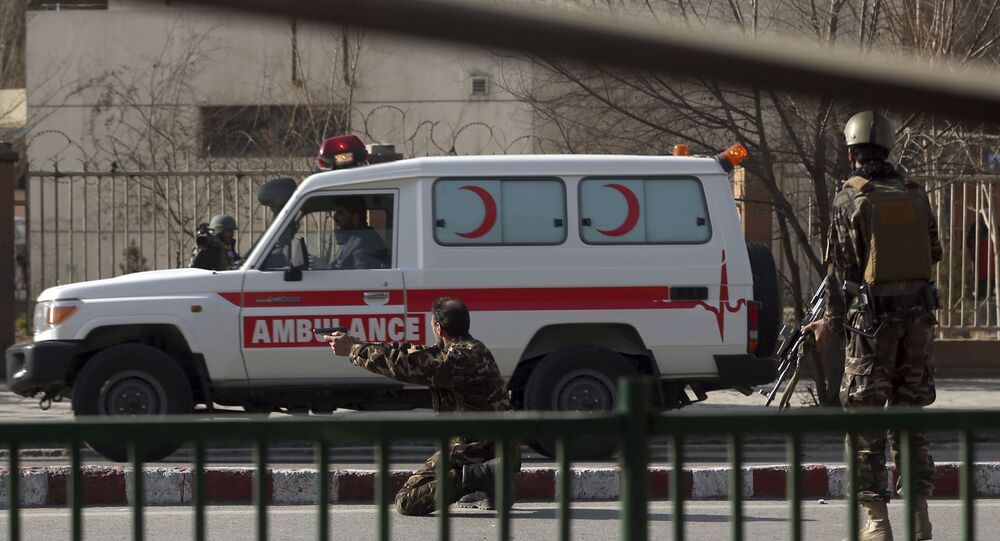 Afghan Ambulance