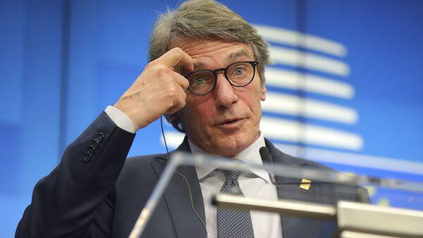 David Sassoli, presidente del Parlamento europeo - Sputnik Italia