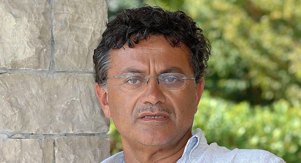 Filosofo Marcello Veneziani, autore del libro «Nostalgia degli Dei»