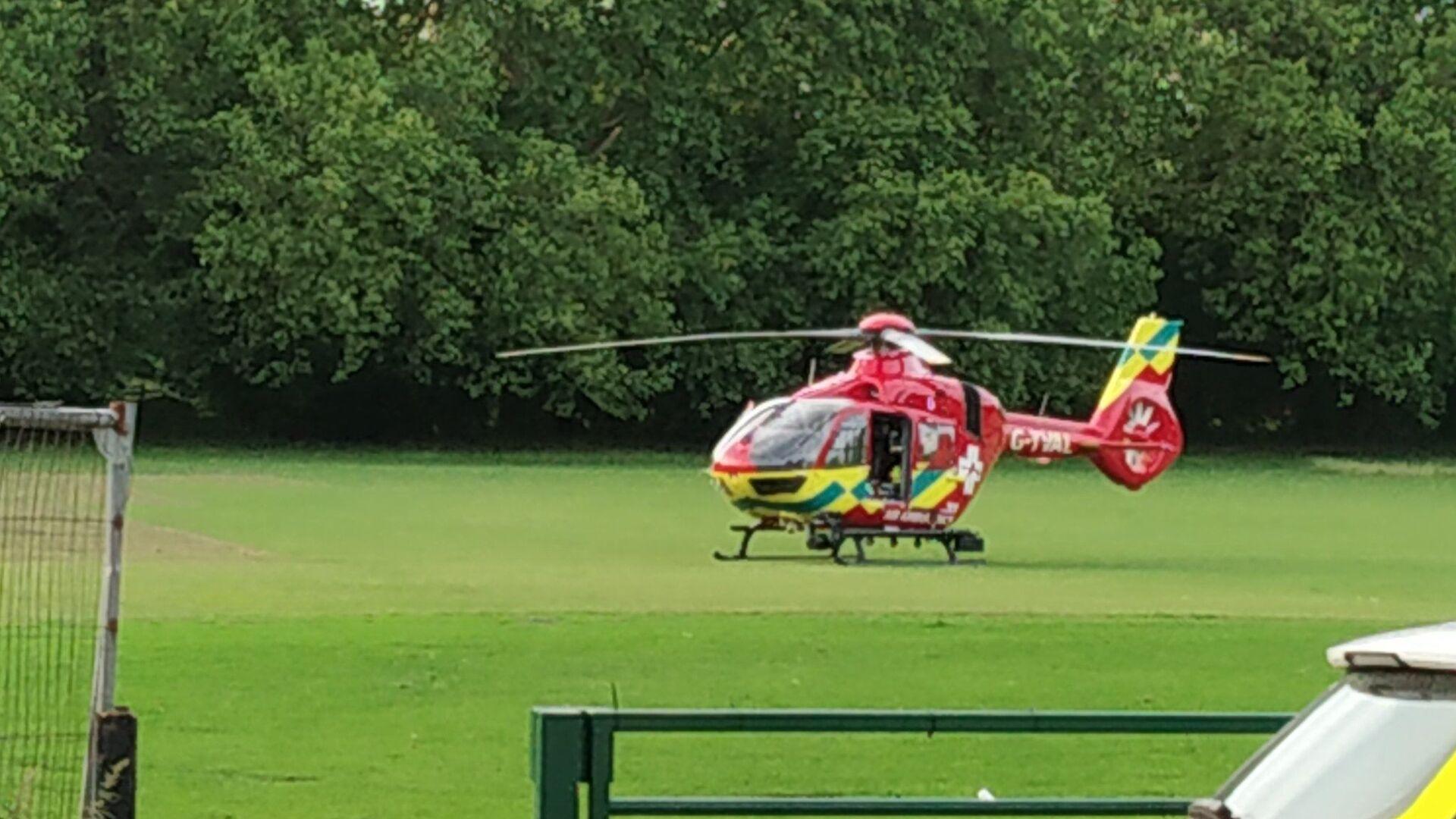 L'elicottero ambulanza a Reading Park - Sputnik Italia, 1920, 01.06.2021