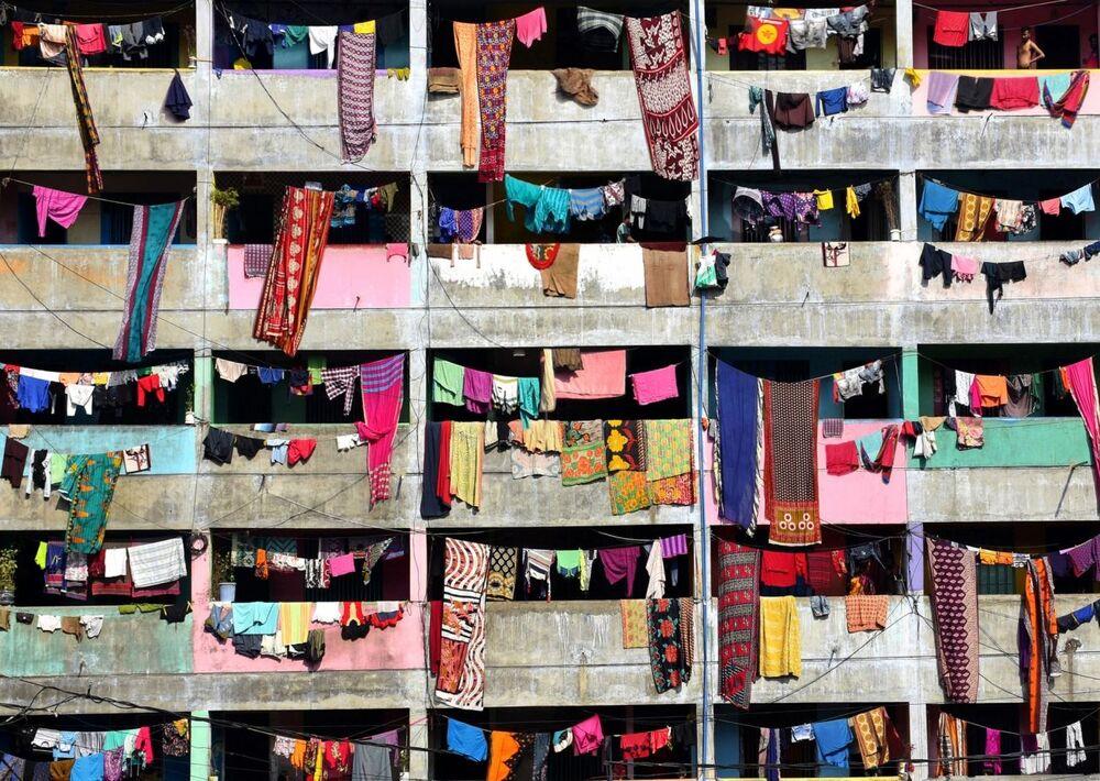 Vita in quarantena del fotografo bengalese Mohammed Shajahan