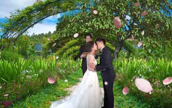 Un matrimonio virtuale - Sputnik Italia