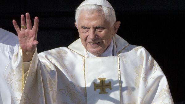 Der emeritierte Papst Benedikt XVI. (Archiv) - Sputnik Italia