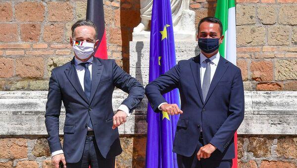 Colloquio a Villa Madama tra Luigi di Maio e Heiko Maas   - Sputnik Italia