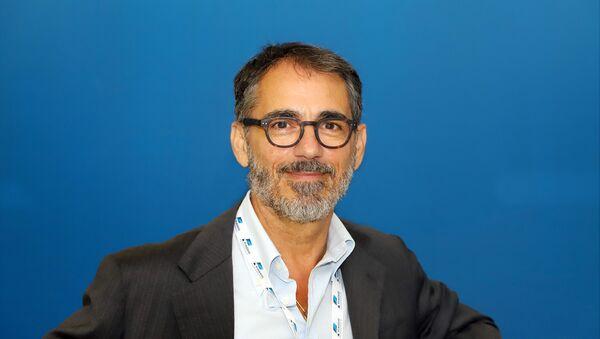 Luciano Luffarelli, Responsabile comunicazione esterna e affari istituzionali di Piaggio Aerospace - Sputnik Italia