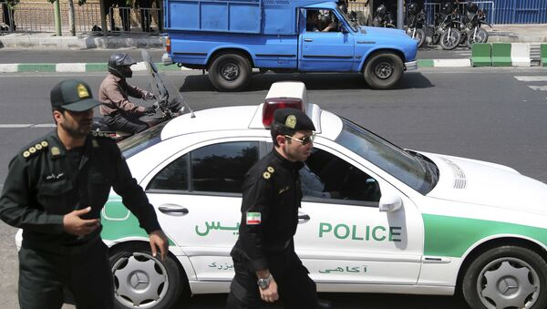Polizia a Teheran (Foto d'archivio) - Sputnik Italia